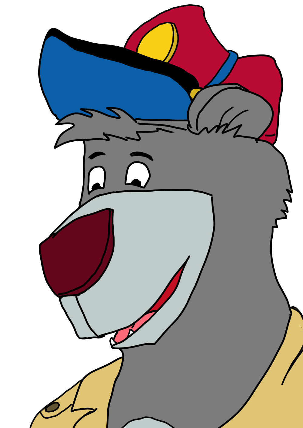 Other People's Characters – Baloo from Talespin